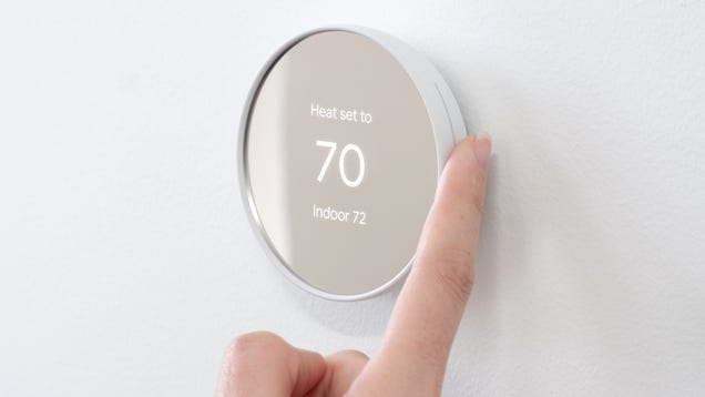 The New Nest Thermostat Shaves $40 Off the Price But Also Ditches the Scroll Wheel