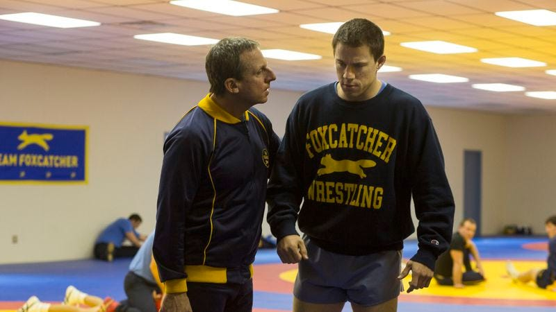 The speculative Foxcatcher turns true crime into unconvincing Greek tragedy