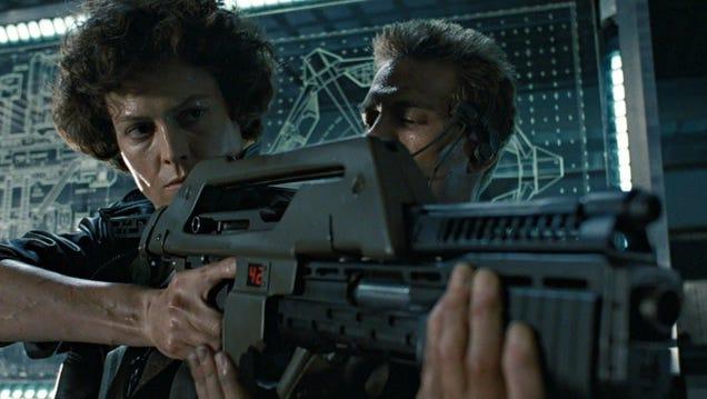 Nerf's Aliens Pulse Rifle Won't Stop a Xenomorph, But Will Make Sci-Fi Dreams Come True