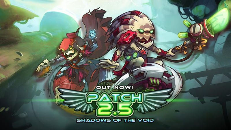 Illustration for article titled Awesomenauts Update: New Character, New Features, MOBA Monday