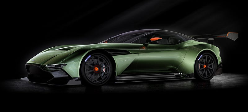 The Aston Martin Vulcan Is A Devastating 800 HP Track Day Switchblade
