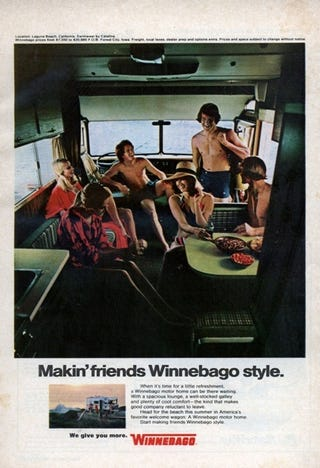 Illustration for article titled How To Make Friends, Winnebago Style