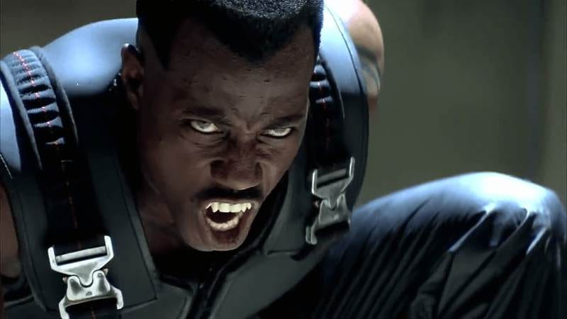 Marvel finally scored a big-screen hit with Blade