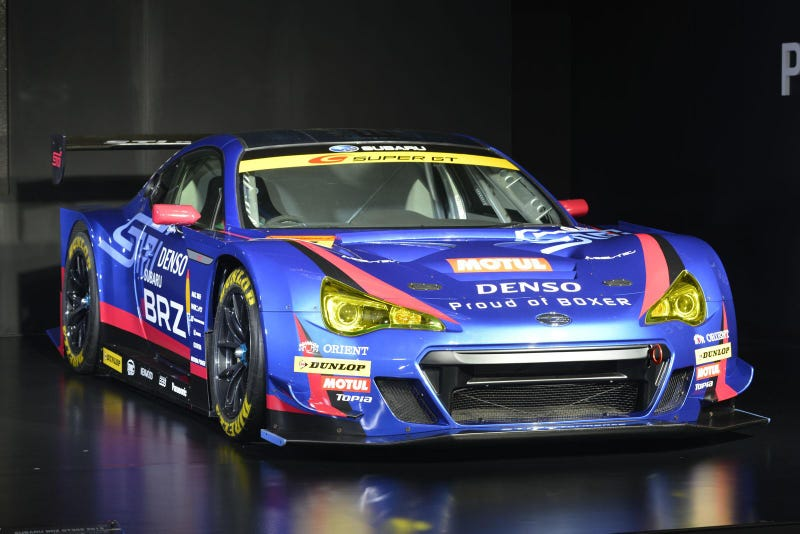 Illustration for article titled Subaru BRZ will race again in the Super GT series!