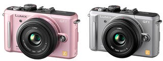 "Illustration for article titled Panasonic's GF1 Micro Four Thirds Appearing In Silver and ""Pink Fairy"" Colors"