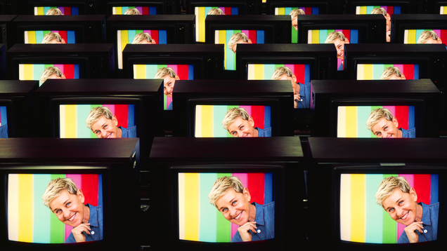 The Making of Ellen DeGeneres, the Nicest Person on Television