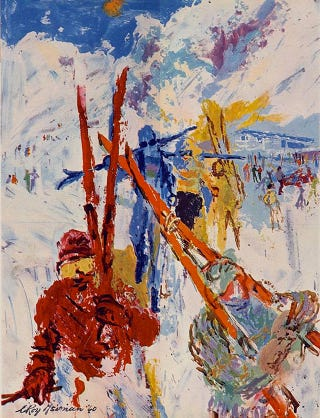 Illustration for article titled Squaw Valley and the 1960 Winter Olympics in Paintings