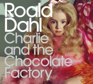 Illustration for article titled New Charlie And The Chocolate Factory Cover Is Horrifying