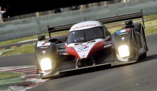Illustration for article titled Parisian Prototype: Peugeot 908 HDi Nabs First LeMans Win