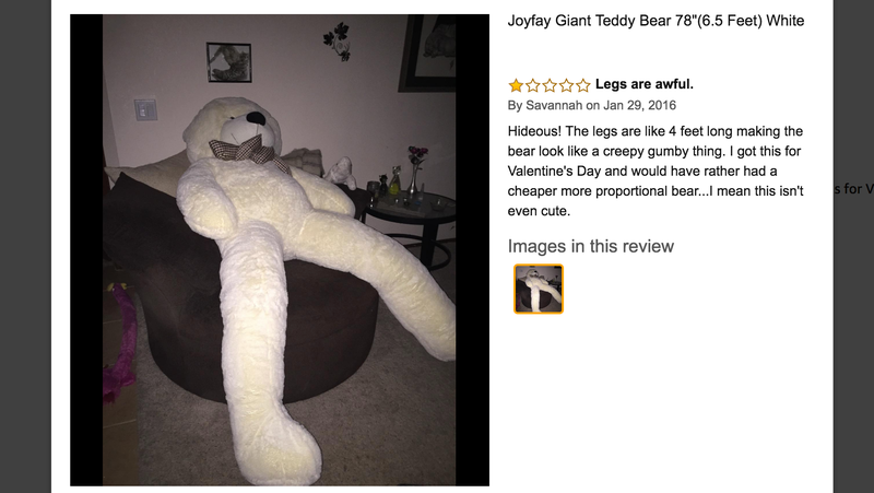 Joyfay Giant Teddy Bear 78"