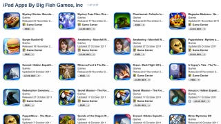 Illustration for article titled Apple Removes Big Fish iPad Game Subscription App Without Notice