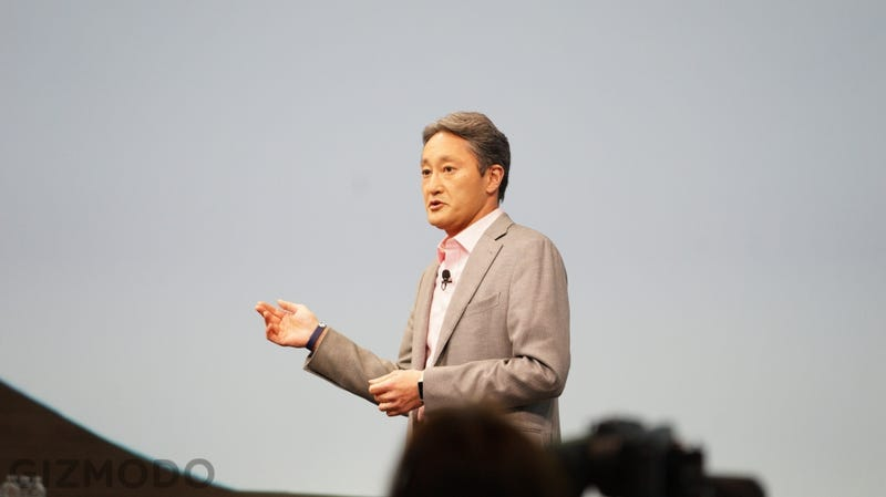 Illustration for article titled Sony's Kaz Hirai on Hack: It's About Freedom Of Speech