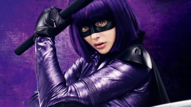 Chloë Grace Moretz as Hit-Girl in Kick-Ass 2.