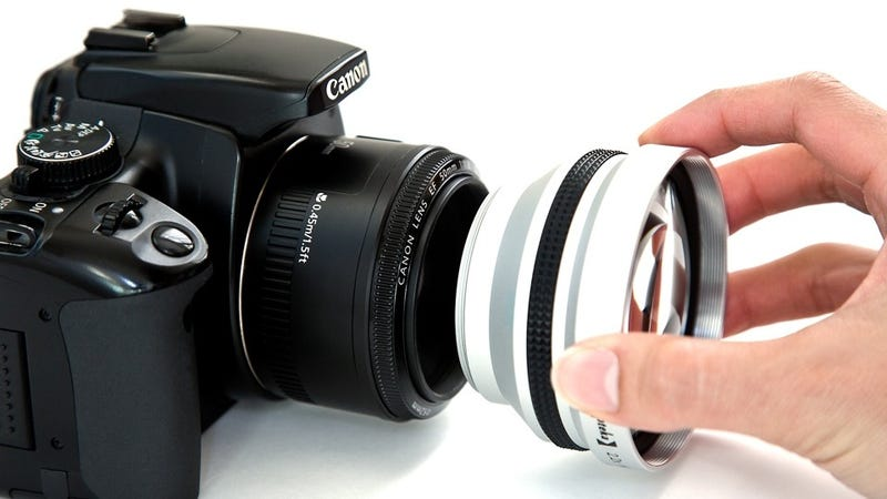 Illustration for article titled Add Telephoto Powers to Your Lens for Cheap