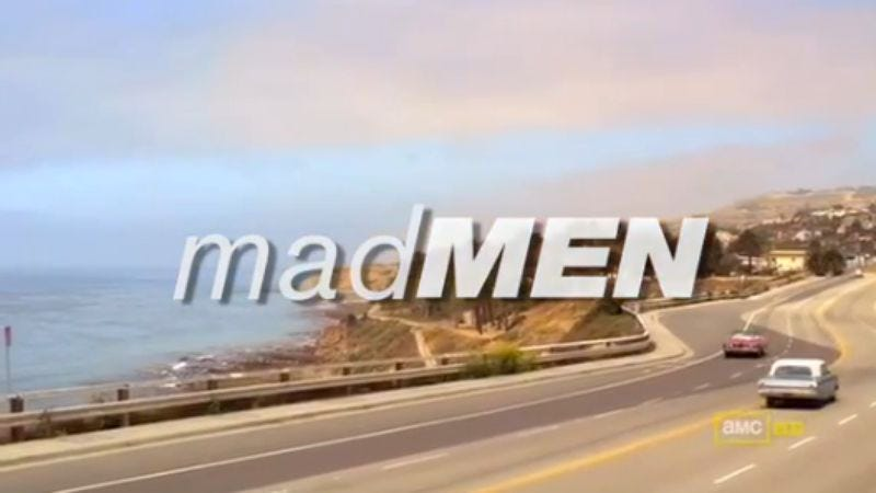 Illustration for article titled The Mad Men credits get The O.C. treatment