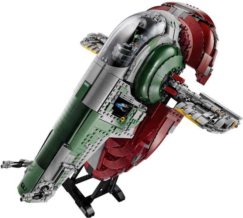 Holy crap, the new Lego Star Wars Slave I is so damn cool and gigantic