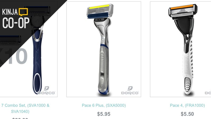 Illustration for article titled Save $10 on any $20 Dorco Razor Order