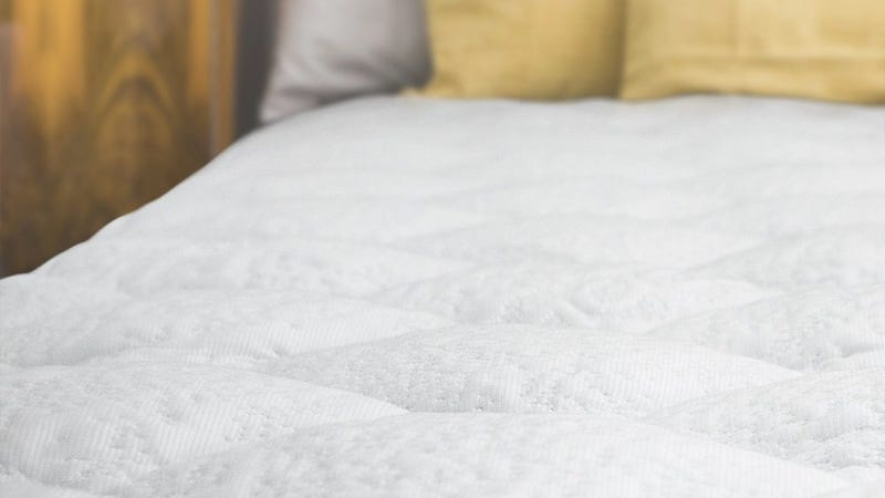eLuxury Supply Cooling Mattress Pad with Fitted Skirt, $93-$114