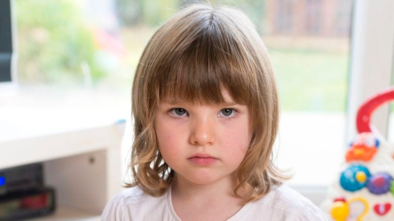 Experts say the remarkable preschooler displays levels of shame and self-loathing on par with most high school freshmen.