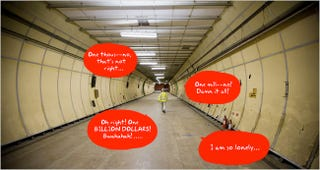 Illustration for article titled Calling All Wannabe Dr. Evil's: Super Secret London Tunnel Lair For Sale