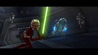 Illustration for article titled Star Wars: The Clone Wars Impressions: Impressive… Most Impressive
