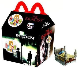 Illustration for article titled Nostalgia Porn: Oh, how I loved The Exorcist Happy Meal
