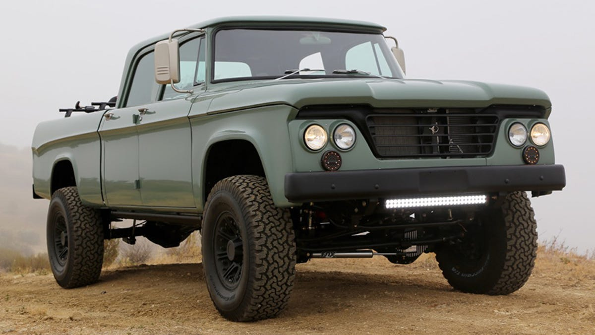 The Latest Dodge Power Wagon From Icon Is So Ugly Its Magnificent 1964 Crew Cab
