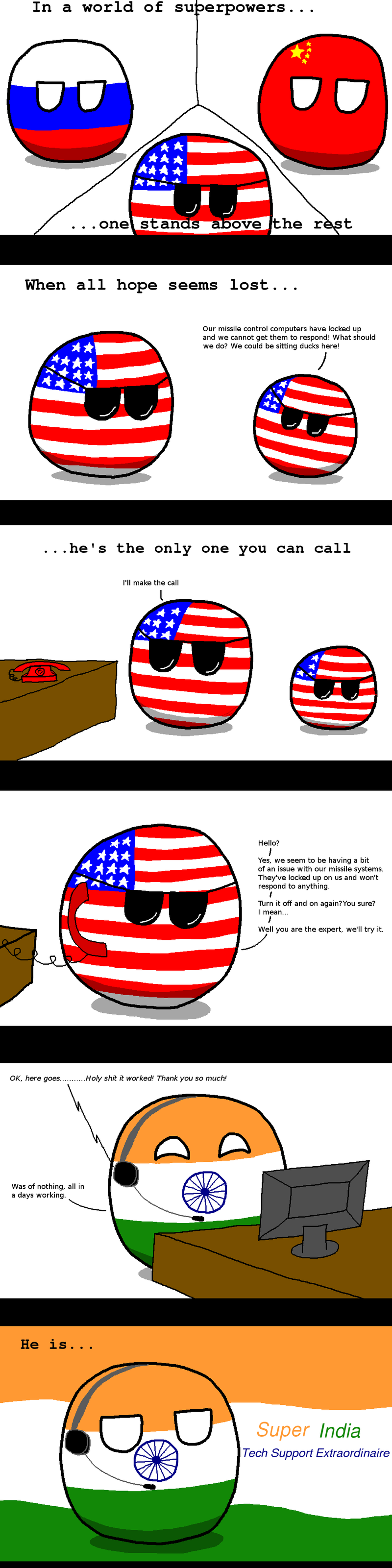 Illustration for article titled Daily Polandball: The Real Hero.