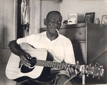 Illustration for article titled Great Vintage Blues #13: Mance Lipscomb