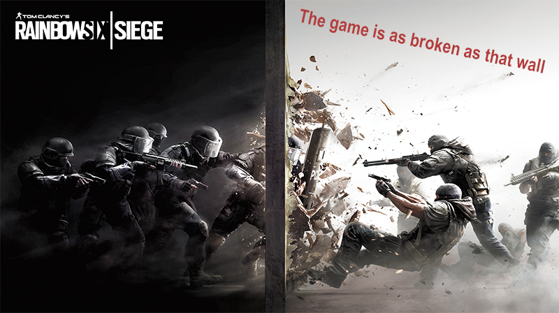 Illustration for article titled [Update: Its In Much Better Condition Now] Do NOT Buy Rainbow Six: Siege