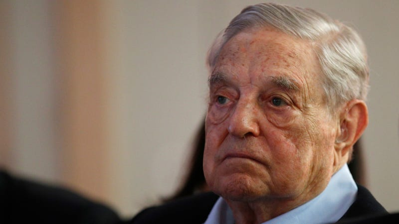 Illustration for article titled George Soros Foundation Calls Facebook 'Vile,' 'Reprehensible' for Pushing Conspiracy Theories