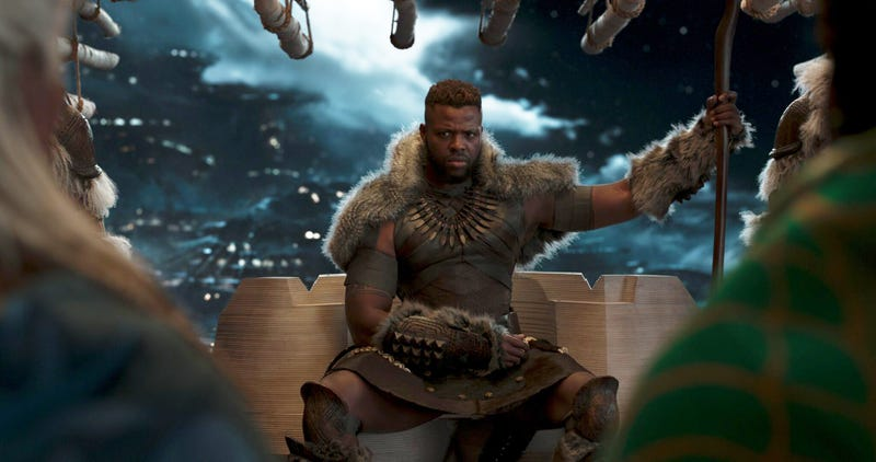 Winston Duke improvised one of his character's best moments in Black Panther.