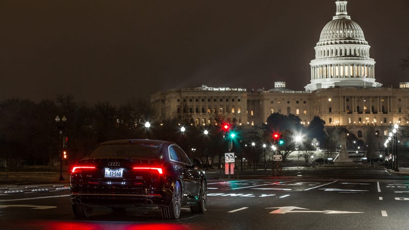 Illustration for article titled Your Audi Can Now 'Talk' With Traffic Lights In Washington D.C.
