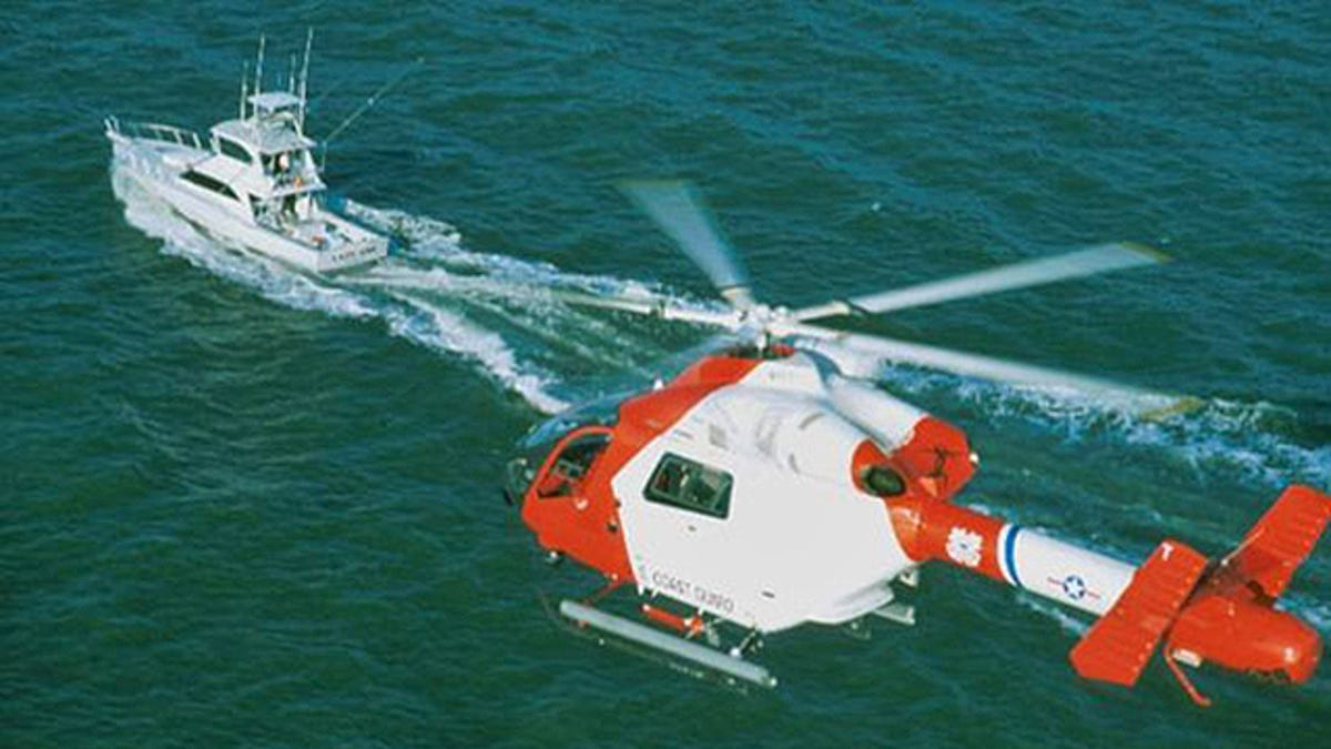 This Secret USCG Program Saw Exotic Armed Choppers Take On