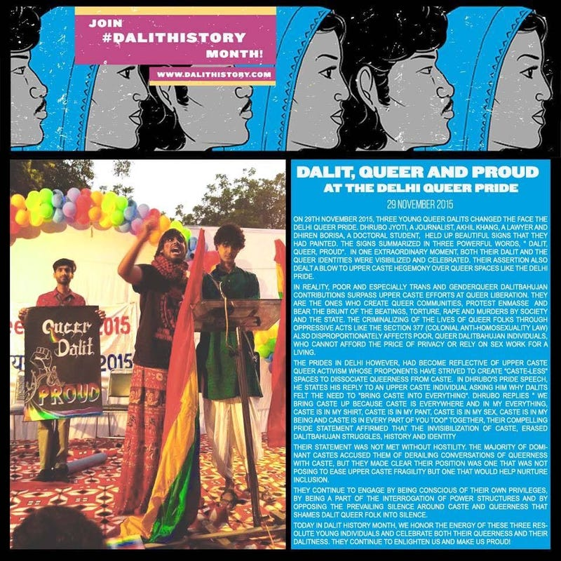 Illustration for article titled Dalit, Queer and Proud at the Delhi Pride Parade