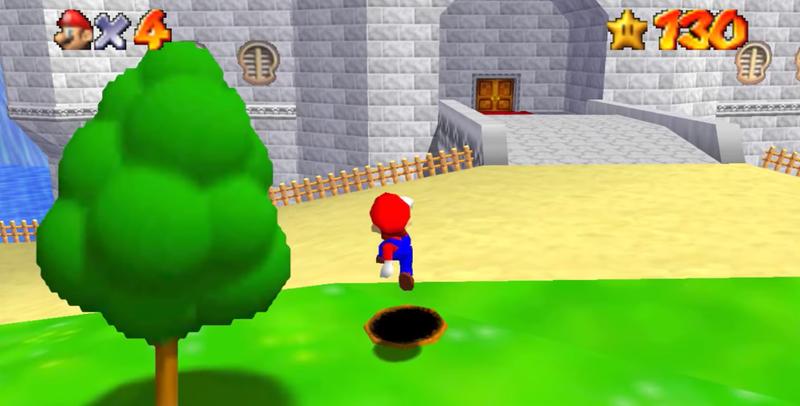 Modder Adds Portal Gun To Super Mario 64