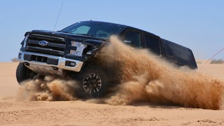 2017 Ford Raptor Claim: '25 Percent Faster' Than The Old One Off-Road
