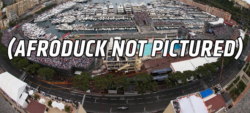 Illustration for article titled Afroduck Trial Starts And Prosecution Compares Lap To Monaco F1 Race