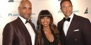 Boris Kodjoe, Gabrielle Union and honoree Christopher Williams (courtesy of ELC)