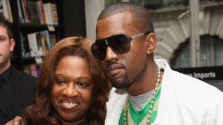 Kanye West poses with his mother, Donda, in 2007.MJ Kim/Getty Images