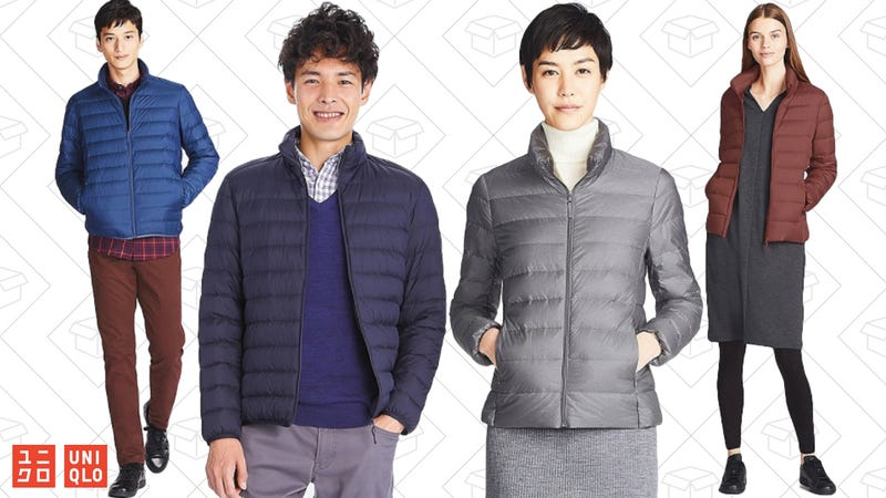 $10 off Ultra Light Down Jackets for men and women