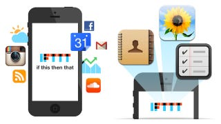 Illustration for article titled IFTTT's New iOS App Mines and Automates Your Entire Phone