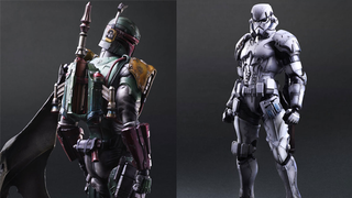 Illustration for article titled Play Arts Kai Will Turn Boba Fett And The Stormtrooper Into Insane Toys