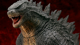Illustration for article titled This Gigantic Godzilla Figure Is A Wonderfully Chunky King Of Kaiju