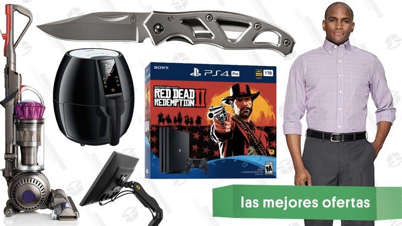 Illustration for article titled Las mejores ofertas de este jueves: Red Dead Redemption 2, soportes para pantalla, gafas de sol de Oakley y más