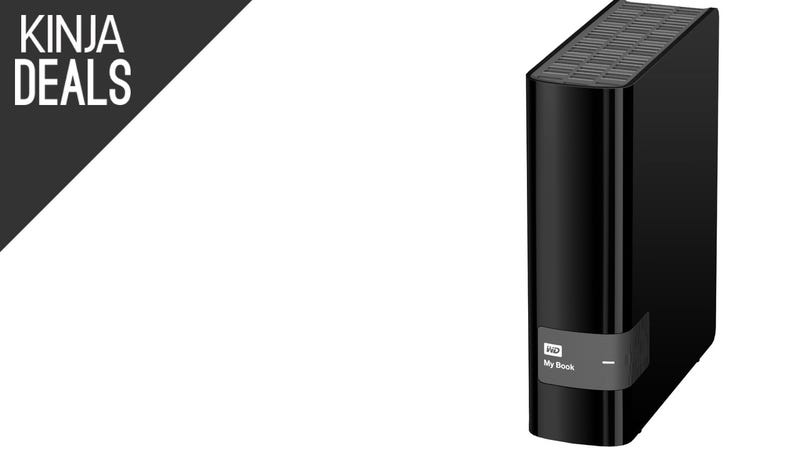 Illustration for article titled This 3TB External Hard Drive is Back Down to $87