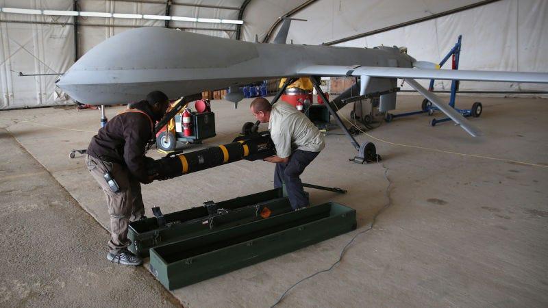 Illustration for article titled Estados Unidos tiene un nuevo misil que despliega cuchillas segundos antes de impactar