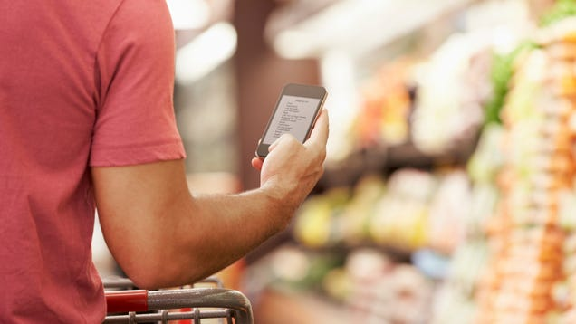 There's a smarter way to organize your grocery list