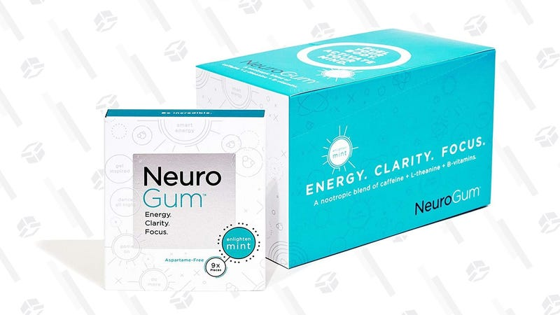 NeuroGum Nootropic Energy Gum | $29 | Amazon