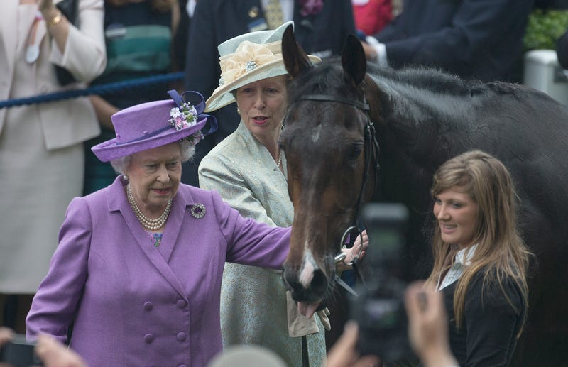 Illustration for article titled Queen Elizabeth's Racehorse Fails Drug Test